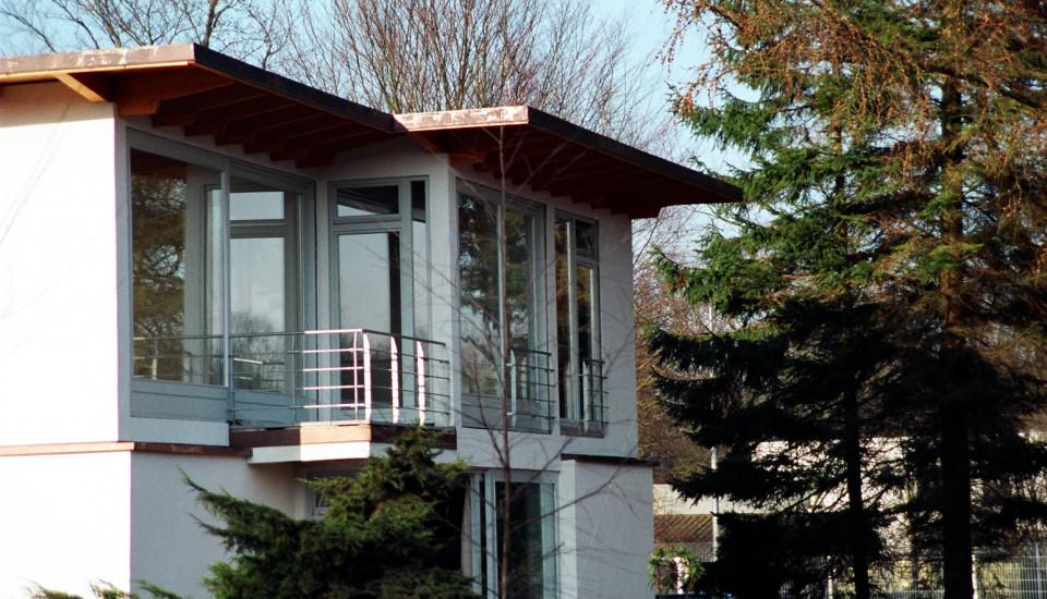 Aufstockung in Holzbauweise in Hamburg Bergstedt